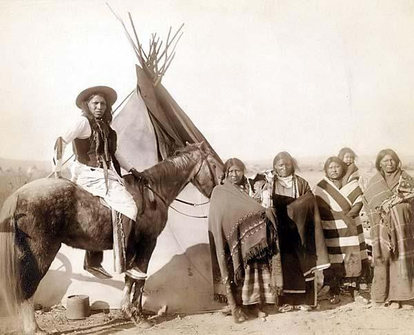 indios americanos Lakota-Sioux