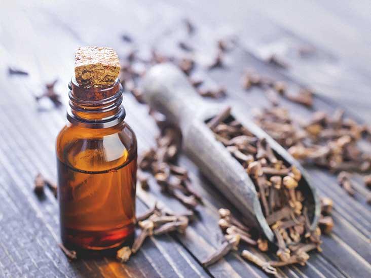 aceite esencial de clavo Syzygium aromaticum
